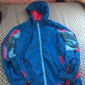 Parka length girls coat